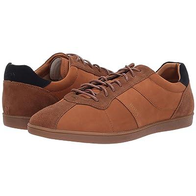 BOSS Hugo Boss Rumba Tennis Sneaker (Medium Brown) Men