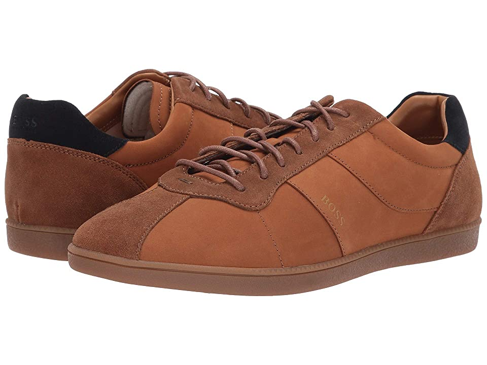 BOSS Hugo Boss Rumba Tennis Sneaker (Medium Brown) Men