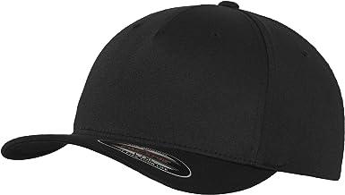 Flexfit 5 Panel Baseball Cap - Unisex Mütze, Kappe für Herren und Damen, einfarbige Basecap, rundum geschlossen