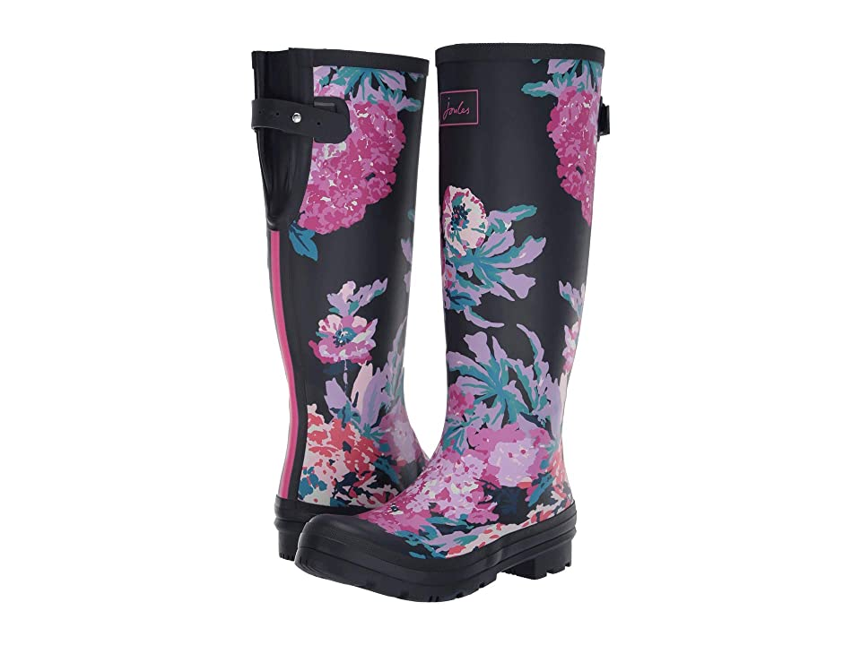 Joules Welly Print (Navy All Over Floral) Women
