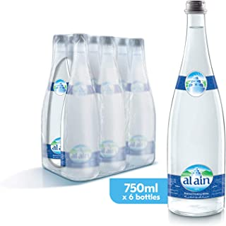 Al Ain Bottled Drinking Water - 750 ml (Pack of 6)