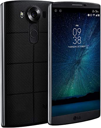 LG- V10, Negro 64 GB; Desbloqueado - Reacondicionado (Renewed)