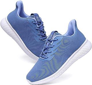 55 أحذية مشي خفيفة الوزن كاجوال برباط أحذية رياضية للجري تنس