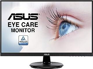"ASUS VA24DQ - Pantalla para PC (23,8"", FHD IPS 16:9 75 Hz, 5 ms, 1920 x 1080, 250 CD/m2, DP, HDMI, VGA, Flicker Free, filt..."