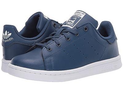 adidas Originals Kids Stan Smith (Little Kid) (Night Marine/White) Boys Shoes