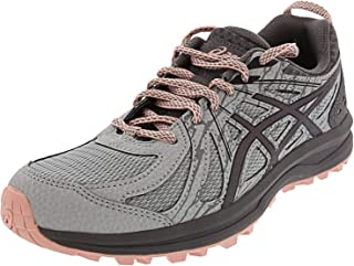 ASICS Women's Frequent Trail Running Shoe, Mid Grey/Carbon, 9