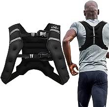 Aduro Sport Weighted Vest Workout Equipment, 4lbs/6lbs/12lbs/20lbs/25lbs Body Weight Vest for Men, Women, Kids