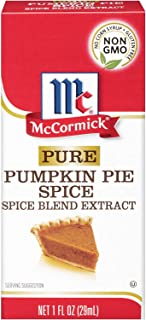 McCormick Pure Pumpkin Pie Spice Blend Extract 1oz Bottle (Pack of 3)