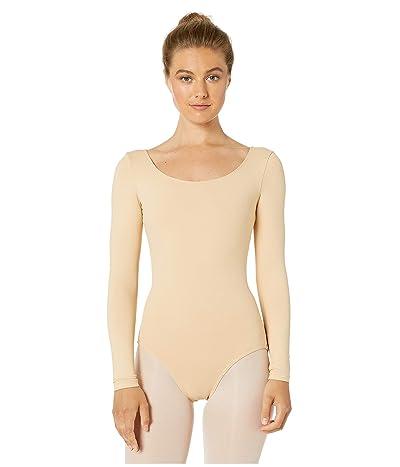 Bloch Long Sleeve Leotard (Nude) Women