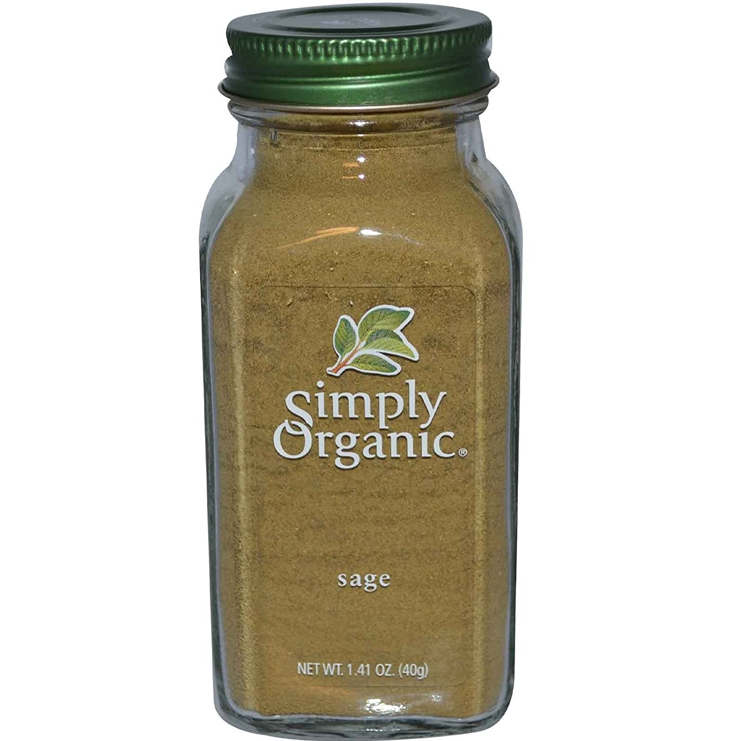 Simply Organic Challenge the lowest price Sage 1.41 Recommended oz - 2pcs g 40