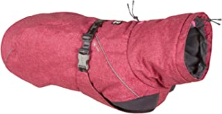 Hurtta Expedition Parka, Winter Dog Coat, Beetroot, 8 in