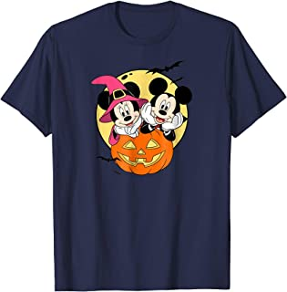 Mickey and Minnie Halloween T Shirt