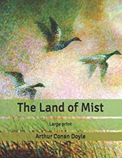 The Land of Mist: Large print