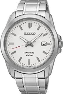 SEIKO SGEH45P1,Men's Date,Stainless Steel Case & Bracelet,Sapphire Crystal,100m WR,SGEH45