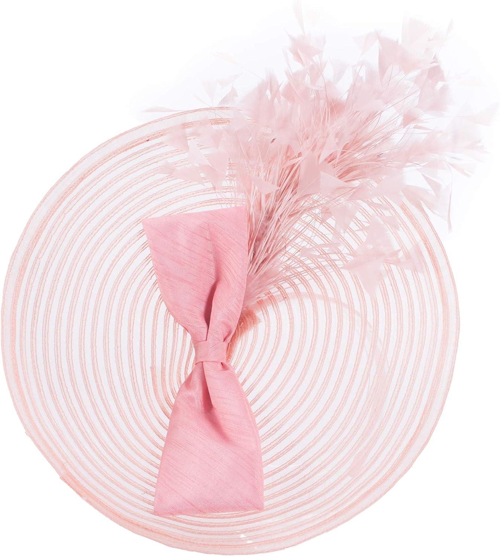 Lawliet Womens Kentucky Derby Fascinator Wedding Church Racing Hat Headpiece T425