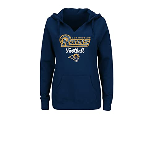 new style 60275 7c6fc LA Rams Sweatshirt: Amazon.com
