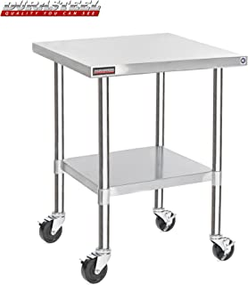 DuraSteel Stainless Steel Work Table 30