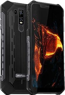 Ulefone Armor 6 4G SIMフリースマートフォン本体 防水 防塵 耐衝撃 6GB RAM + 128GB ROM (256 GB SDメモリ) 5000mAh 大容量バッテリー 10w 高速充電 6.2インチ FHD+全画面 I...