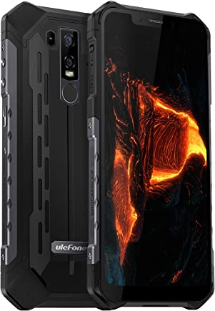 """$429 Get Ulefone Armor 6 IP68 Waterproof Unlocked Cell Phone, Android 8.1 Outdoor Smartphone 6.2"""" 19:9 FHD+, Helio P60 6GB + 128GB, Dual 4G LTE Global Bands, GPS+GLONASS, 5000mAh Battery, Shockproof, US Plug"""