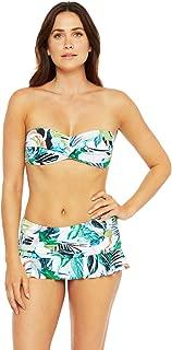 Women's Bandeau Hipster Bikini Swimsuit Top