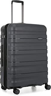 Antler 4227123016 Juno 2 4W Medium Roller Case Suitcases (Hardside), Charcoal, 68 cm