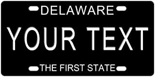 Custom DELAWARE License Plate With