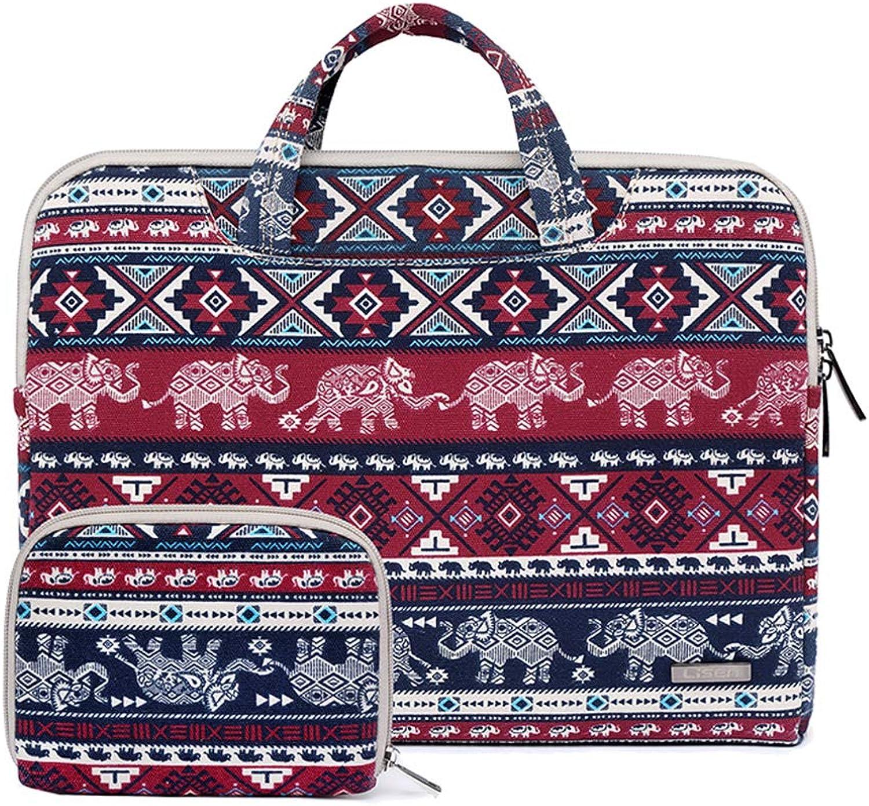 Laptop Bag PC Storage Inner Bag Bag Shock Absorption Commuter Shockproof Waterproof Canvas Handbag 11.6 inches
