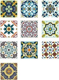 VORCOOL Autoadhesivo Azulejos Decorativos en Vinilo Adhesivo