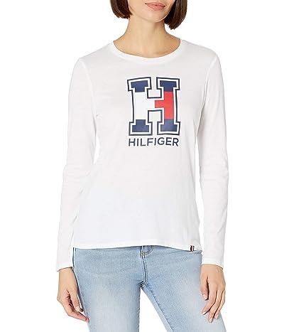 Tommy Hilfiger Long Sleeve Crew Neck Logo T Shirt