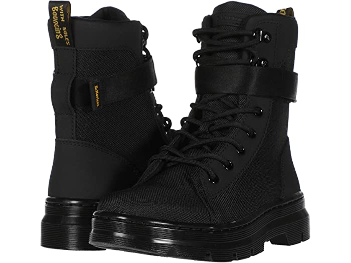 dr martens black combs tech boots
