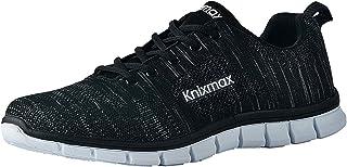 comprar comparacion Knixmax-Zapatillas Deportivas de Hombre, Zapatillas de Running Fitness Sneakers Zapatos de Correr Aire Libre Deportes Casu...