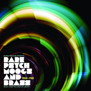 Rare Psych Moogs And Brass : Music From The Sonoton Library 1969-1981