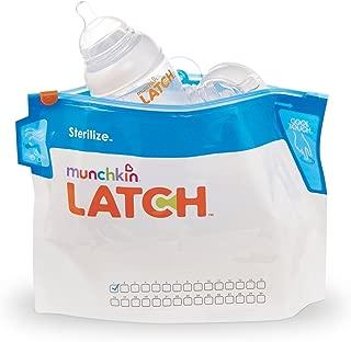 Munchkin Latch Sterilize Bags, 12 Count