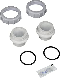 Pentair 271096 White Bulkhead Union Replacement Set Pool and Spa Filter