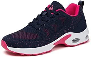 Mishansha Women's Running Walking Shoes Breathable Air Cushion Sneakers