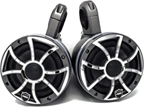 wet sounds REVO6-XSG-SS Gunmetal & Stainless Steel 6.5