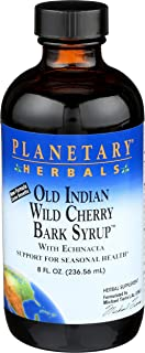Planetary Formulas® Old Indian Wild Cherry Bark Syrup, 8 oz