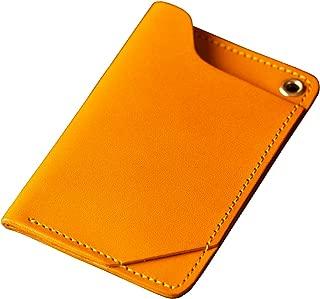 [アム デ マス] カードケース 栃木レザー 本革 日本製 ICカード 定期入れ ハンドメイド シンプル 大人 CC-002