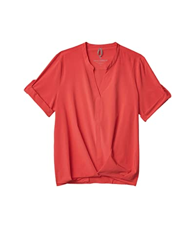 Royal Robbins Spotless Traveler Short Sleeve Top (Chrysanthemum) Women