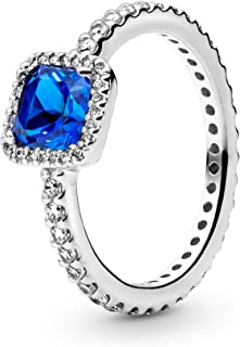 Best sterling silver ring with blue stone Reviews