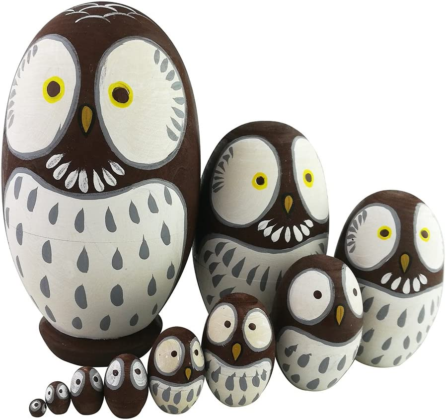 Adorable Brand Cheap Sale Venue Lovely Animal lowest price Theme Big Round Egg Owl Brown S Eyes Wise