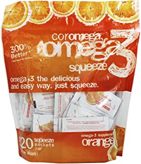 Coromega - Omega-3 Squeeze Orange - 120 Packet(s)
