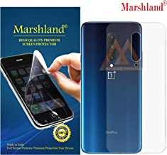 MARSHLAND Matte Finish Back Screen Protector Flexible Anti Scratch Bubble Free Back Screen Guard Compatible with Oneplus 7 Pro