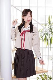 (SUNLIKE)セーラー服コスプレ⑤Mサイズ 長袖ブラウン系 萌え可愛タイプ