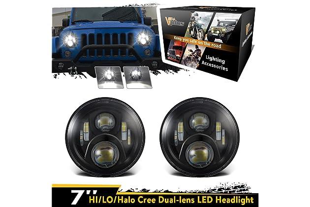 Best Headlights For Jeep Amazon Com