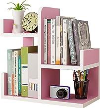 Desktop Boom Boekenplank, Organisator Planken, 4 Tier Vormige Boomvormige Boekenkast, Schrijftafel Rekken, Boeken, Tijdsch...