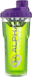 Alpha Bottle 750ml BPA en DEHP vrije proteïne shaker (Purple)