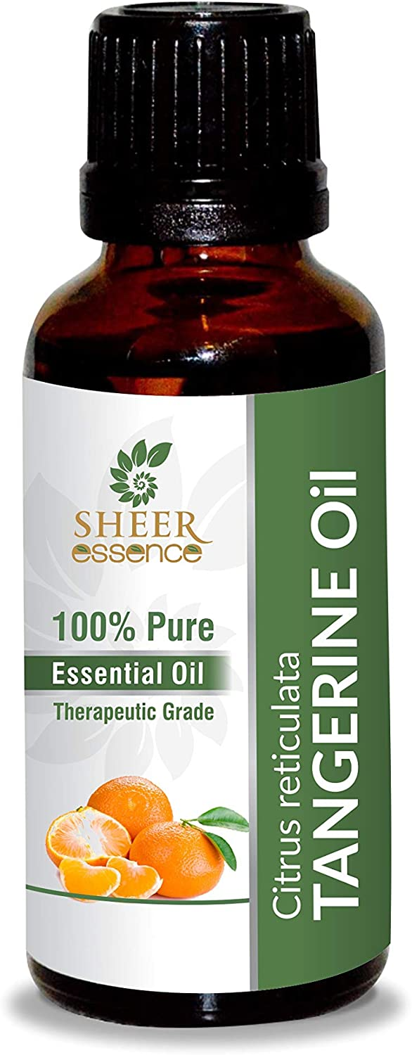 Tangerine Oil - Citrus reticulate Gifts 100% Natural OFFicial mail order Pur Cold Pressed
