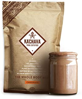 Ka'Chava Meal Replacement Shake - A Blend of Organic Superfoods and Plant-Based Protein - The Ultimate All-In-One Whole Bo...