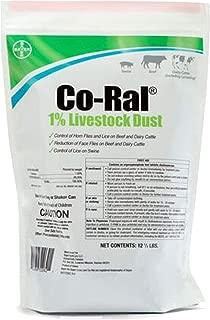 Bayer Co RAL 1 Livestock Dust 12 5lb